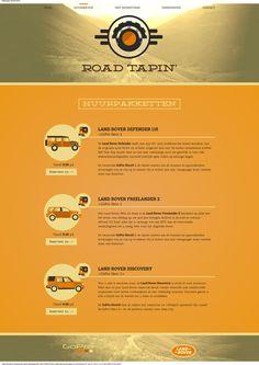 Road Tapin' by Maxim Defossez, via Behance