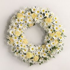 Daisy Wreath — great for summer!