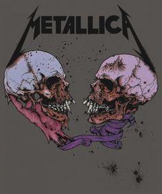Metallica- Sad But True, Pushead. Black Metal, Heavy Metal Rock, Heavy Metal Music, Heavy Metal Bands, Heavy Metal Tattoo, Metallica Cover, Metallica Tattoo, Metallica Art, Metallica Albums
