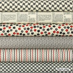 Sweetwater Fabric Pack Mama Said SEW in Threads- a nod to one of my fav fabric store in FoCo... Mama Said Sew!
