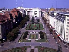 View from the bell tower in Timisoara, Romania. I have a picture just like this that I took.