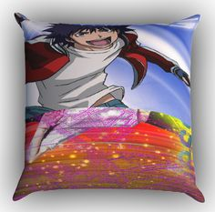 Air Gear Anime Z0989 Zippered Pillows Covers 16x16, 18x18, 20x20 Inches