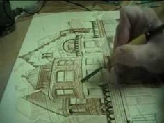 PyroGraphics - The Art of Woodburning  This would be a cool project- woodburning a picture of the house my great-great grandpa built for Frank Lloyd Wright