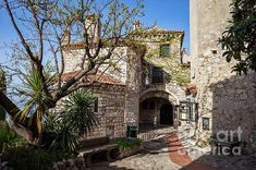 French Riviera, Coast, France, Wall Art, Mansions, House Styles, Luxury Houses, French, Palaces