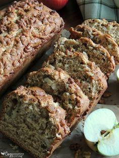 Apple Walnut Loaf! Yum!