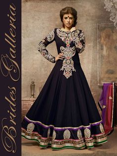 Exquisite Party Wear Anarkali Suit kalidar style suits 2012