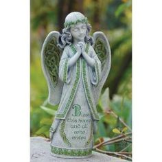 Garden Irish Angel Statue $36.50 by Wayfair