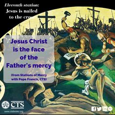 Eleventh Station of #Mercy #Lent2016 #Cross