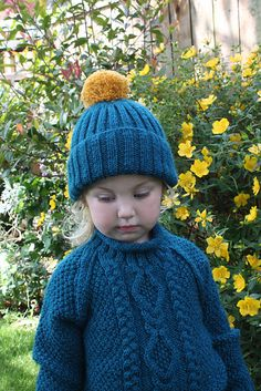 Ravelry: lindsaymudd's Ruby's Aran Jumper and Hat