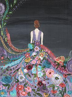 Silent Melody II Art Print - Bari J. Designs
