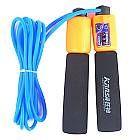 Spugna Di Gomma Corda Per Saltare Manico Regolabile Con Funzione Di Conteggio Colori Assortiti 3- http://www.siboom.it/confronta-prezzi-prodotti-per-il-fitness_c166114.html?catt=prodotti-per-il-fitness&k=attrezzi&ppa=5 | Vai Ropes Tipo di accessoriFitness MaterialeGomma ColoreBluRosso Dimensionicm310 Peso kg017