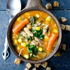 A very comforting chicken soup that is the best remedy for the cold. Full of flavors and vitamins! A natural immune system booster!