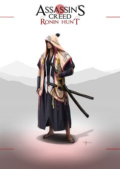 Assassin's Creed Ronin Hunt by F-B-S-Augusto.deviantart.com on @DeviantArt