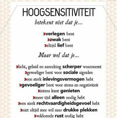 Hoogsensitiviteit (HSP) Infj Mbti, Introvert, Self Compassion, Autism Spectrum Disorder, Highly Sensitive, Happy Thoughts, Relationship Advice, Good To Know, Happy Life