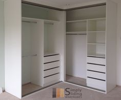 5 Corner Closet Design Layouts in 2020 Closet design