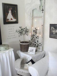 Интерьер в стиле шебби шик в отдельно взятой квартире.Гостиная 17