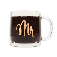 Mr Glass Mug