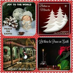 12-20-15 Christmas Greetings, Merry Christmas, Christmas Gifts, Christmas Ornaments, Peace On Earth, Joy To The World, Silent Night, Christmas Pictures, Four Square