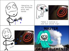 Me Gusta Comic - Master of the elements