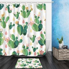 Fashion Style 3d Starfish Corals 7 Shower Curtain Waterproof Fiber Bathroom Windows Toilet To Enjoy High Reputation At Home And Abroad Home & Garden