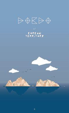 DOKDO. by ongcheon. Polygon Illust Weekend House, Logo Design, Graphic Design, Japanese Beauty, Beautiful Islands, Art Forms, Printmaking, Korea, Typography