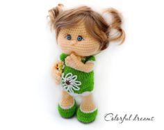 Crochet pattern Penguin girl Lina by HMColorfuldreams on Etsy