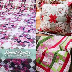 Roses and daisies and lilies -- oh my! In this Craftsy blog post, we feature some beautiful floral quilts created by our very own Craftsy members. Click here to get some flowery inspiration for your next quilting project: http://www.craftsy.com/ext/20130130_14_Quilting_1b