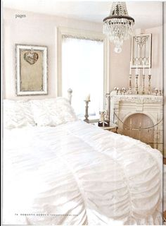 beautiful french shabby chic - this duvet cover is at Target!