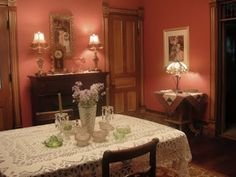 1893 Victorian Farmhouse: Restoring the Red Dining Room