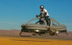 "Hover vehicle's intuitive controls could someday allow anyone to fly without pilot training, similar to the bikes in ""Return of the Jedi."""