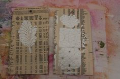 Adding Texture with Stencils – CHA Summer 2013