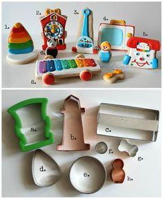 Vintage Toy Cookies