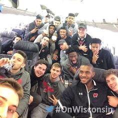 """1,573 Likes, 13 Comments - Wisconsin Basketball (@badgermbb) on Instagram: """"Thanks for the memories, Buffalo. ✌️ Cya soon, Madison. ✈️ #Sweet16 #MarchMadness #OnWisconsin…"""""""