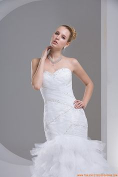 Vestidos de novia de tul estilo serina moda 2014