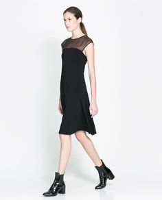 ZARA - WOMAN - COMBINED DRESS