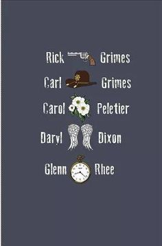 """The Original Five """"Rick, Daryl, Carol, Glenn, and Carl"""" ~ The Walking Dead ~ The Atlanta Five Carl The Walking Dead, Walking Dead Quotes, Walking Dead Zombies, Andrew Lincoln, Old Fashioned Words, The Walkind Dead, Walking Dead Wallpaper, Dead Inside, Stuff And Thangs"""