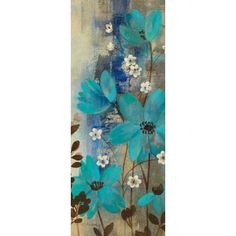 Floral Symphony Crop I Canvas Art - Silvia Vassileva (10 x 20)