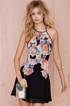 It's All a Fleur Chiffon Dress | Shop Going Out at Nasty Gal
