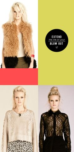 a visual guide to making your blowdry last longer! http://bit.ly/TBDblowout