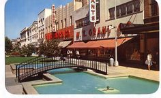 The Kalamazoo Mall was the first pedestrian walking mall in the country (1957 to 1977). Today, it's open to traffic.