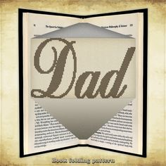 Book folding pattern DAD for 271 folds - ID0846785