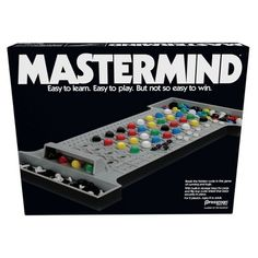 Pressman Retro Mastermind Game : Target Old School Board Games, School Games, Bored Games, Logic Games, Math Games, Typing Games, Strategy Games, Adult Games