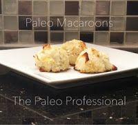 Nourished Maven: Paleo Macaroon Bites