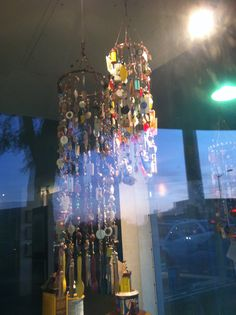 mobiles with leftover beads
