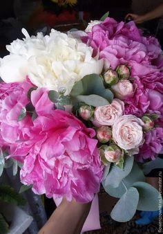 Купить Композиции из живых цветов на президиум молодоженов на свадьбе - бледно-розовый, свадебный стол