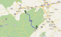 Google Map of Forest Heritage Scenic Hwy - U.S. Route 276