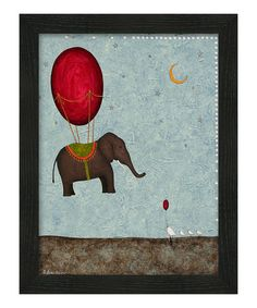 Take a look at this Eyelevel Framing The Arrival Framed Wall Art by Ready, Set, Go: Kids' Décor on @zulily today!