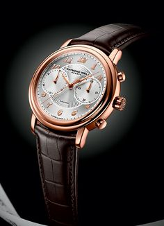 With a classic allure, elegantly colored materials and modern dial design RAYMOND WEIL Maestro Collection, a new Chronograph (PR/Pics http://watchmobile7.com/articles/raymond-weil-maestro-collection-new-chronograph) (1/2) #watches #raymondweil @Raymond Zhang WEIL