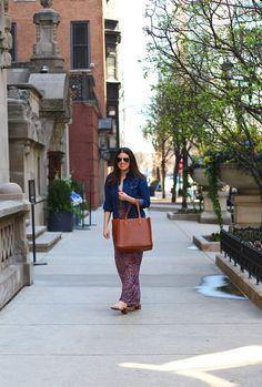 MAXI DRESS SEASON Have A Good Weekend, Girl Blog, Gold Coast, Jacket Dress, Paisley Print, Seasons, Denim, My Style, Jackets