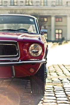 Miss Big Red 1968 #302 #V8 #Ford #Mustang #Auto